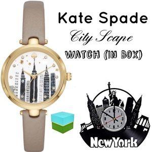 Kate Spade ♠️ NYC New York City Scape Watch NIB